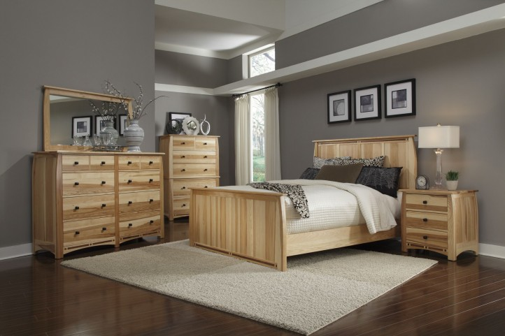 Adamstown Natural Storage Bedroom Set