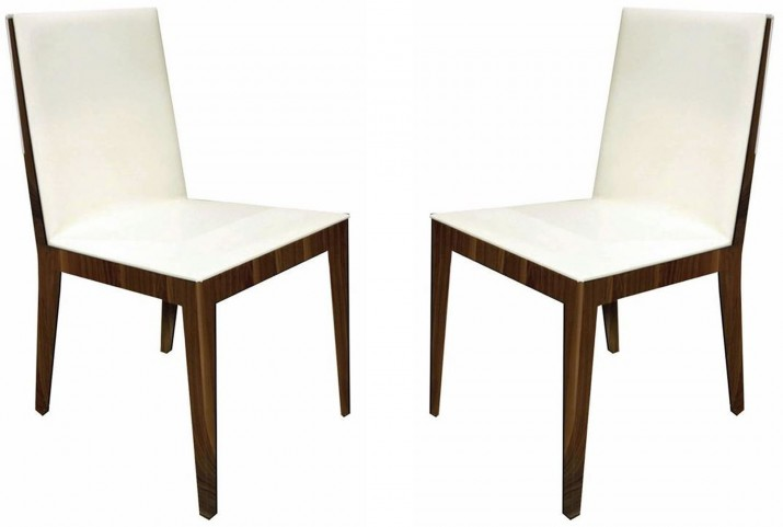 Adeline White Dining Chair Set of 2