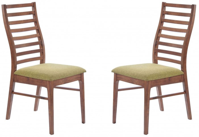 Simply Scandinavian Lexington Green Side Chair Set of 2