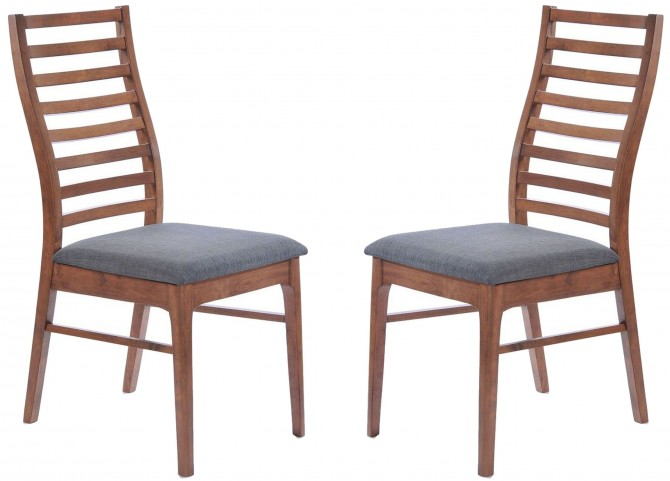 Simply Scandinavian Lexington Gray Side Chair Set of 2