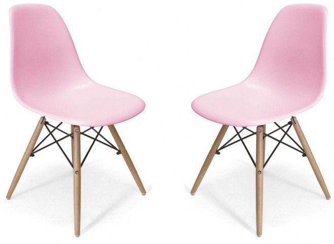 Euro Home Paris 2 Pink Chair Set of 2