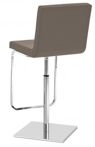 Afro Taupe Swivel Stool