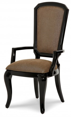 After Eight Black Onyx Arm Chair