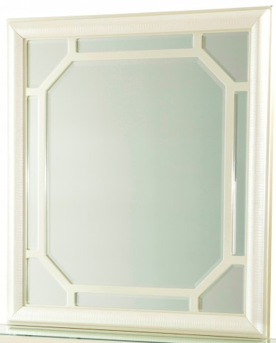 After Eight Pearl Croc Rectangular Dresser Mirror