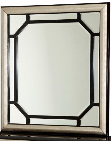 After Eight Black Onyx Rectangular Dresser Mirror