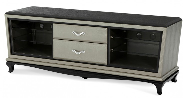 After Eight Titanium Entertainment Console