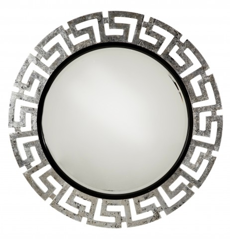 After Eight Black Onyx Wall Mirror