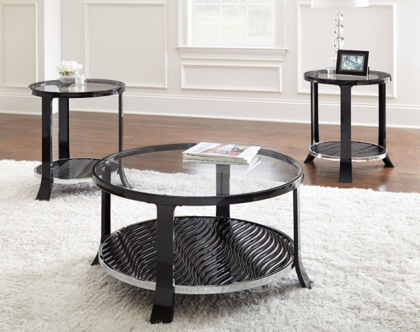 Abigail Round Occasional Table Set