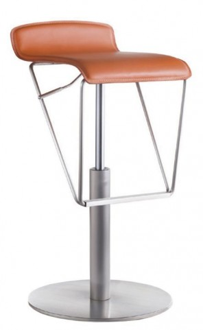 Alfa Orange Barstool