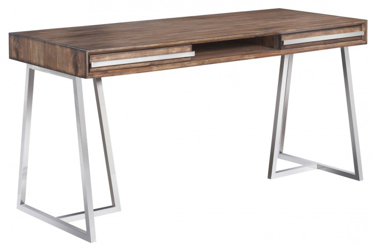 Alma Smoked Brown Desk