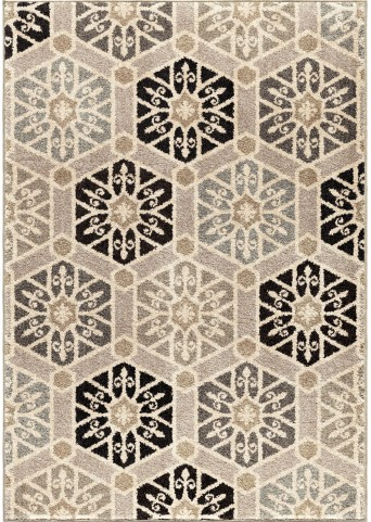 Orian Rugs Plush Pile Medallion Partha Multi Area Small Rug
