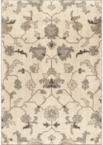 Orian Rugs Floral Floral Tantum Ivory Area Large Rug