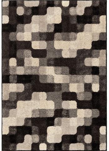 Orian Rugs Geometric Geometric Halo Blocks Gray Area Large Rug