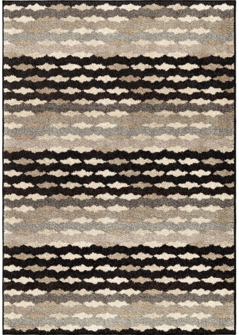 Orian Rugs Stripes Stripes Eureka Gray Area Small Rug