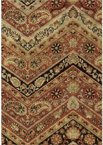 Orian Rugs Plush Pile Paisley Paisley Point Multi Area Large Rug