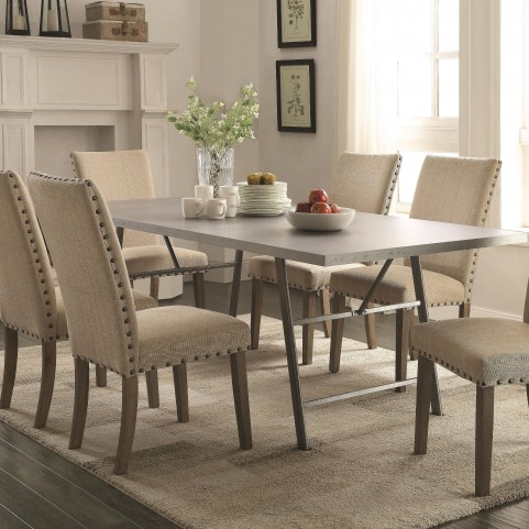 Amherst Rectangular Double Pedestal Dining Table