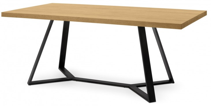 Archie Oak Top Dining Table