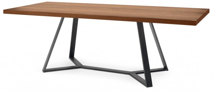 Archie Walnut Top Dining Table