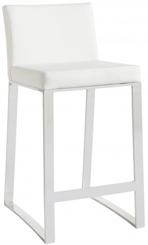Architect White Counter Stool