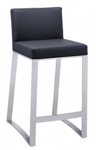 Architect Black Counter Stool