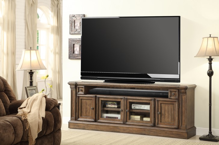 "Aria 80"" TV Console With Power Center"