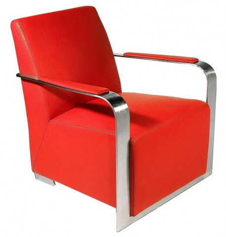 Ariana Red Arm Chair