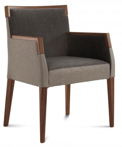 Ariel Walnut Beechwood Armchair
