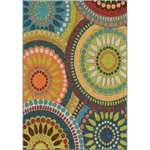 Merrifield Collage Blue Large Rug