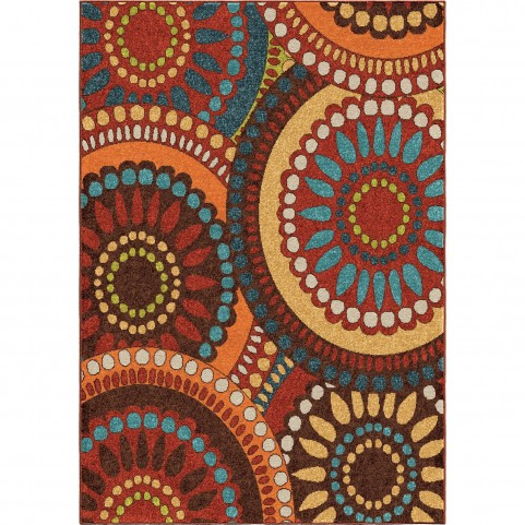 Merrifield Collage Multi Large Rug