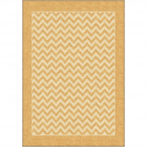 Sunny Day Stripe Gold Medium Rug