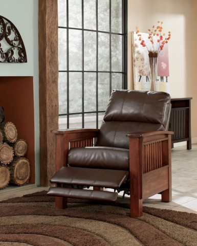 Santa Fe Bark High Leg Recliner