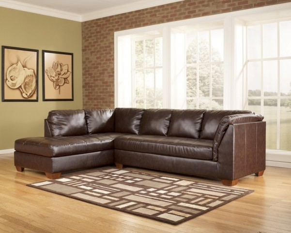 Fairplay DuraBlend Mahogany Left Corner Sectional