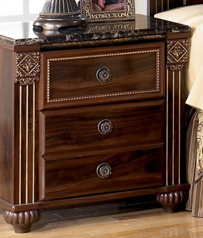 Gabriela Dark Brown Nightstand