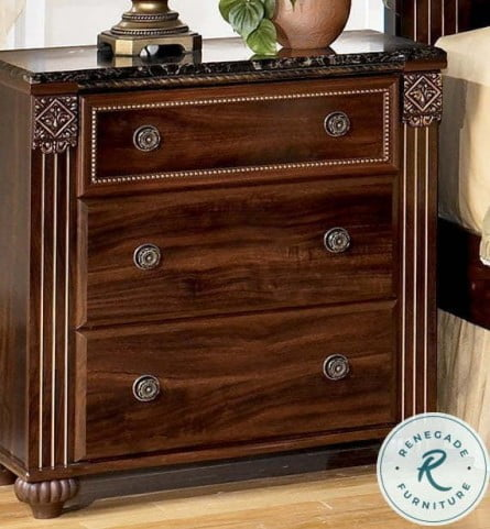 Gabriela 3- Drawer Nightstand