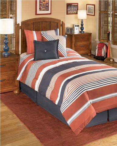 Manning Stripe Twin Bedding Set