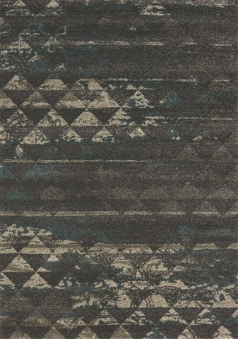 Ashbury Dark Purple/Blue Quilt Large Rug
