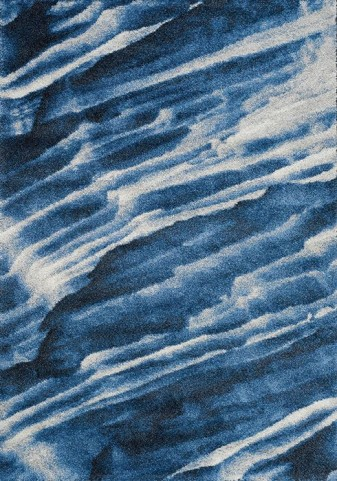 Ashbury Blue and White Winter Sky Medium Rug