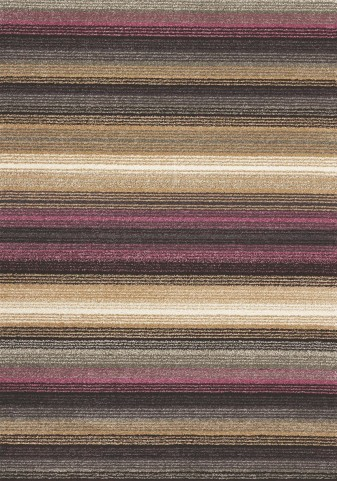 "Ashbury Purple Fabric 94"" Rug"