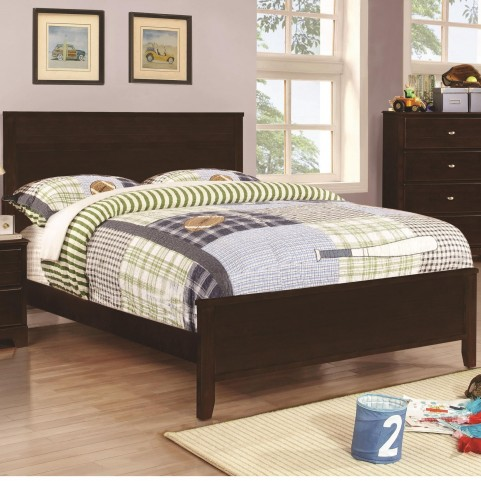 Ashton Cappuccino Full Panel Bed