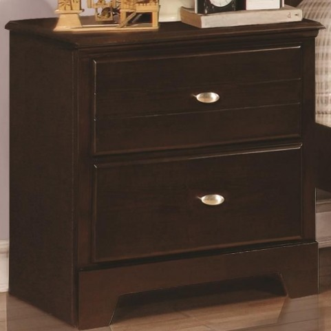 Ashton Cappuccino 2 Drawer Nightstand