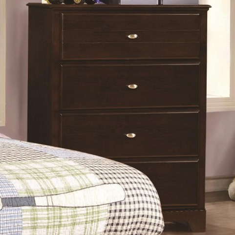 Ashton Cappuccino 4 Drawer Chest