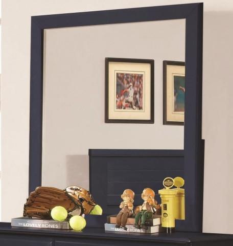 Ashton Navy Mirror
