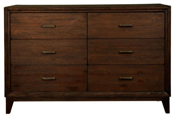 Ashton Rustic Java Double Dresser