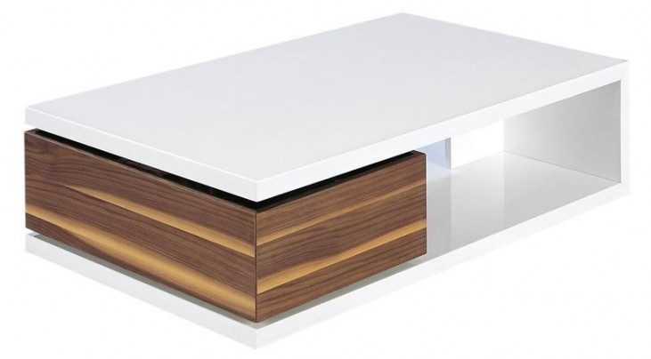 Aspen Light Walnut Coffee Table