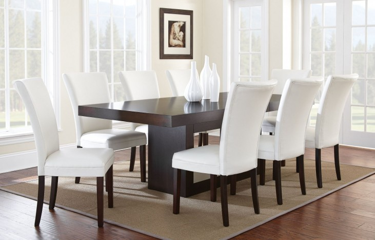 Antonio Extendable Rectangular Dining Room Set