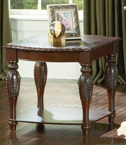 Antoinette Brown Cherry End Table