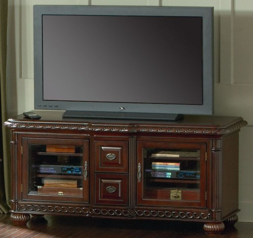 Antoinette Brown Cherry Media Console
