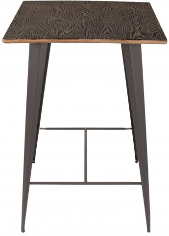 Oregon Medium Brown Pub Table