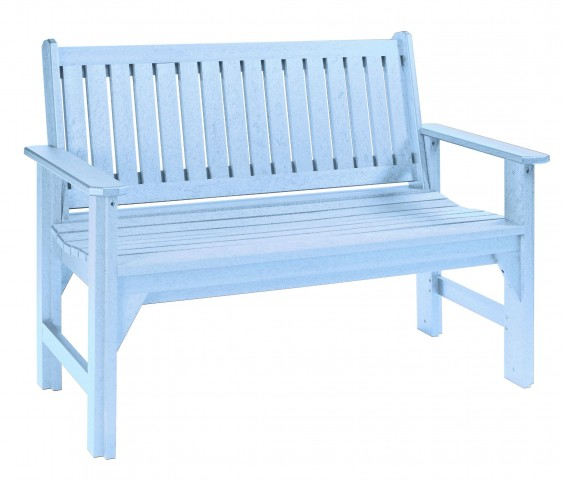 Generations Sky Blue Garden Bench