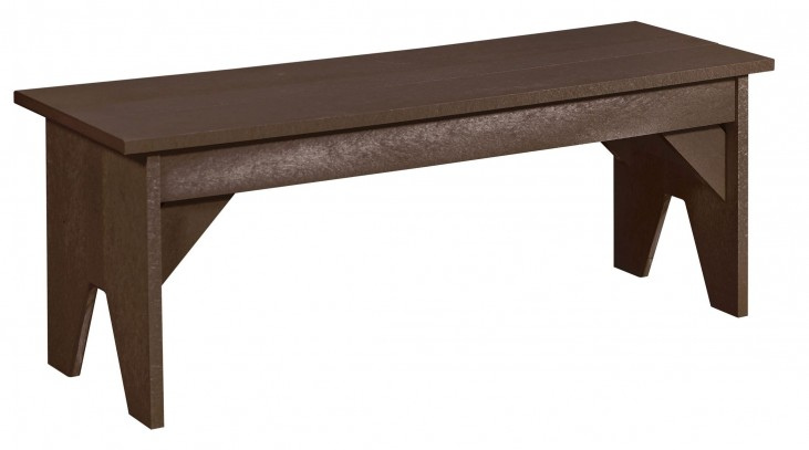 Generations Chocolate Lifestyle Outdoor Bench